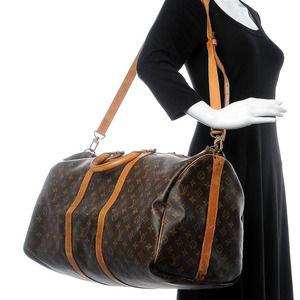 💋AUTHENTIC💋 LOUIS VUITTON Keepal bandouliere Travel bag